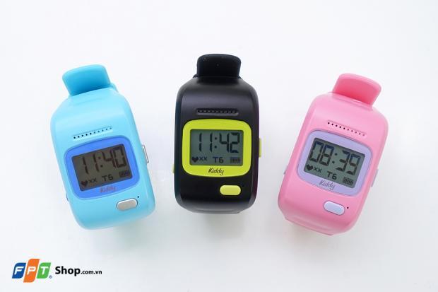 Trên tay đồng hồ thông minh định vị liên lạc Kiddy 3