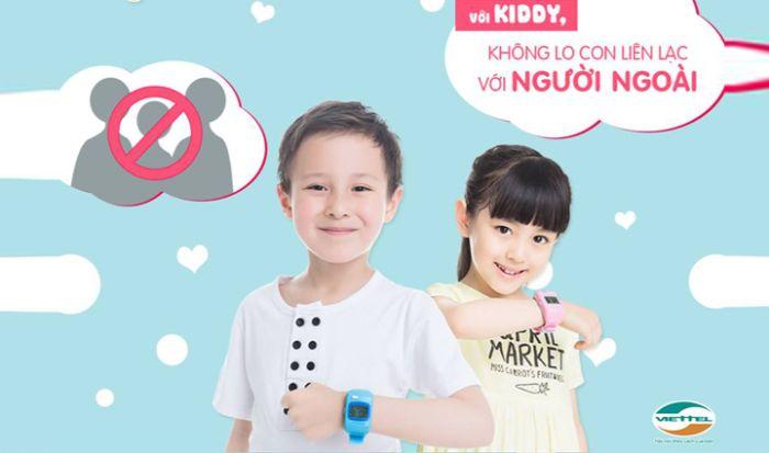 Đồng hồ thông minh Viettel là sản phẩm tuyệt vời giúp phụ huynh bảo vệ, quản lý trẻ