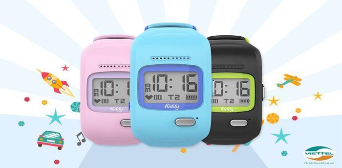Đồng hồ thông minh Kiddy giúp các bậc phụ huynh yên tâm hơn khi có thể theo dõi con cái mọi lúc mọi nơ