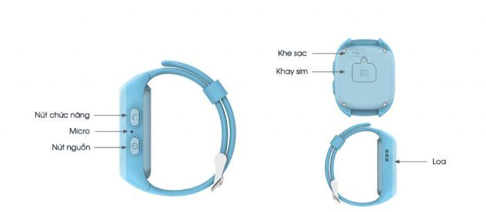 Đồng hồ thông minh Kiddy Viettel được trang bị tính năng chống nước