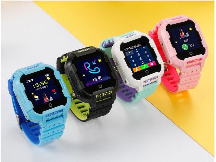 Đồng hồ tgdd định vị Baby Kid của Hàn Quốc có nhiều màu sắc khác nhau