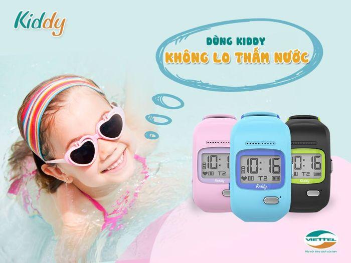 Đồng hồ định vị HW11 chống nước có khả năng chống nước rất tốt