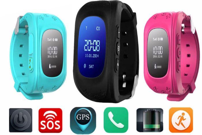Đồng hồ smartwatch cho trẻ em tích hợp nhiều tính năng bảo vệ bé