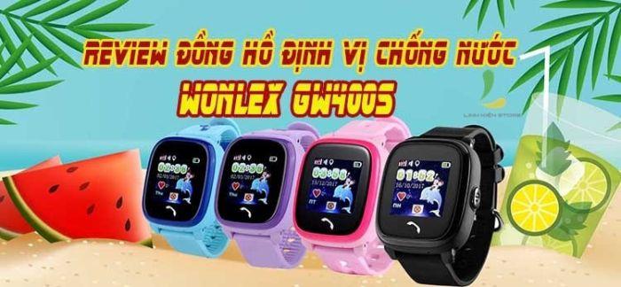 Wonlex GW400S có hỗ trợ mạng di động và có thể lắP SIM nghe gọi, nhắn tin