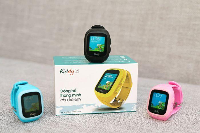 Đồng hồ thông minh cho trẻ Kiddy Viettel được sản xuất với chất liệu cao cấp silicon