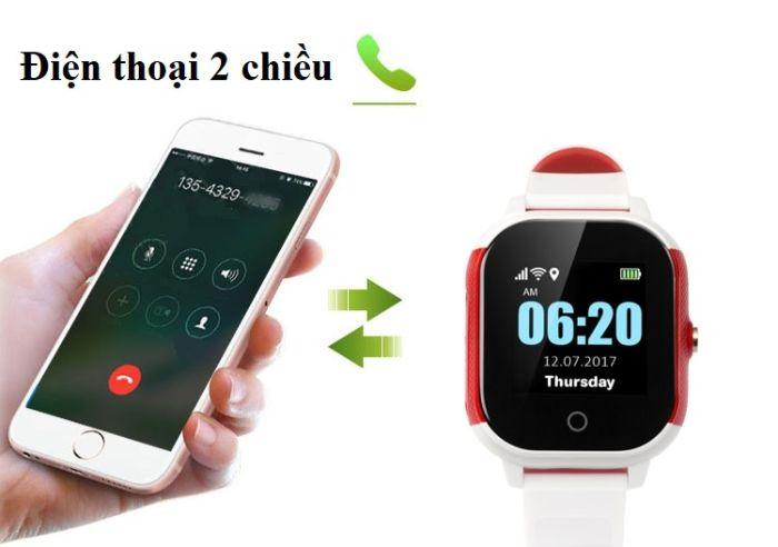 Đồng hồ thông minh trẻ em sở hữu chức năng nghe gọi 2 chiều và nhận tin nhắn SMS