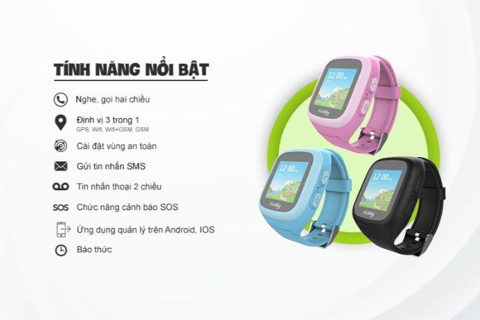 Có nên mua đồng hồ thông minh Kiddy Viettel không?