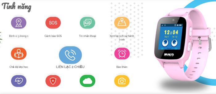 Đồng hồ thông minh màu hồng là thiết bị mới có mặt trên thị trường Việt Nam.