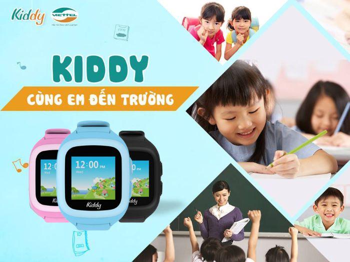 Trang web kiddyviettel.vn địa chỉ mua đồng hồ trẻ em giá rẻ, uy tín