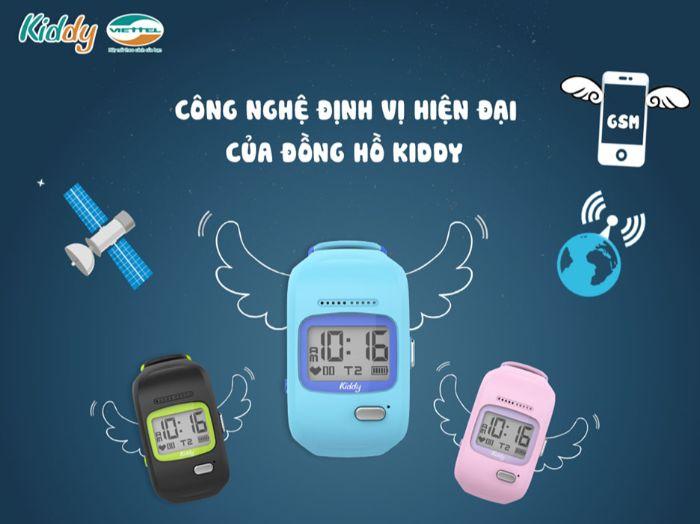Ưu điểm của đồng hồ trẻ em nam Kiddy Viettel