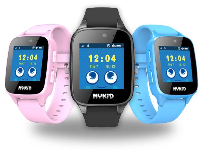 Đồng hồ trẻ em thông minh Kiddy có các tính năng như định vị GPS, xem giờ và liên lạc hai chiều.