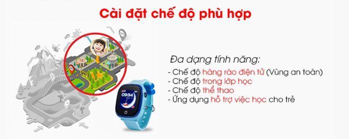 Những chiếc đồng hồ thông minh cho trẻ em Viettel được trang bị những tính năng rất hữu ích