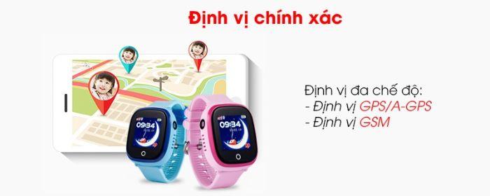 Đồng hồ định vị của Viettel có khả năng xác định vị trí của trẻ mọi lúc mọi nơi