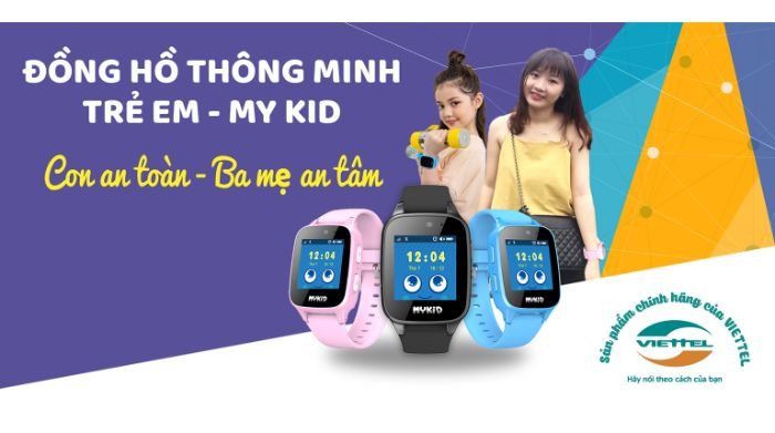 Mua đồng hồ cho bé gái ở đâu chính hãng Viettel?