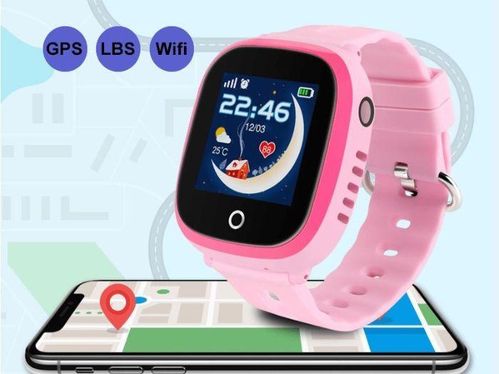 Định vị đồng hồ qua GPS