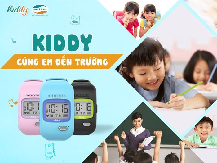 Mách bạn địa chỉ bán đồng hồ định vị viettel trẻ em TPHCM